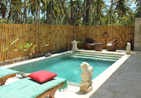 Kebun Kupu Kupu Eco Resort gili meno accommodation