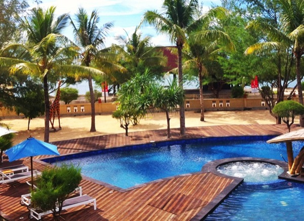 Oceano Resort Gili Trawangan accommodation