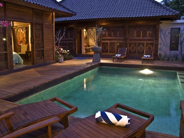 Villa Gili Exotic gili trawangan accommodation