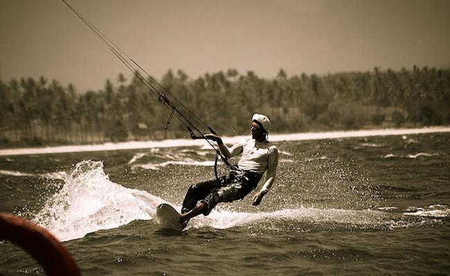 Gili Air Kitesurfing